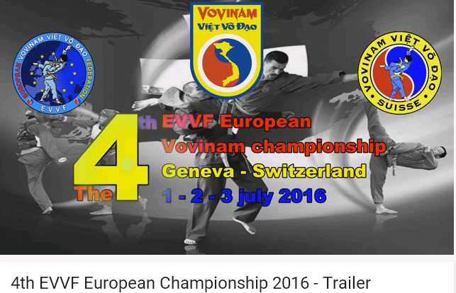 4th Vovinam European Championship 2016 Trailer